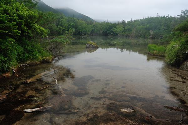 山中の湖、原始の風格。